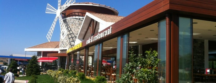 Tellioğlu Değirmen Cafe & Restaurant is one of สถานที่ที่ Safak ถูกใจ.
