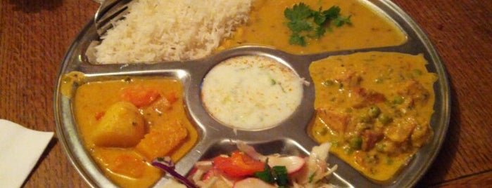 Thali Cafe is one of Posti che sono piaciuti a Dan.