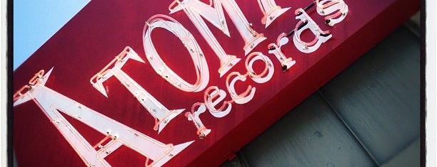 Atomic Records is one of L.A. – Record Shops.