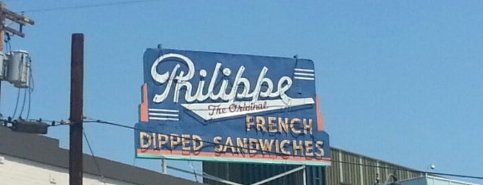 Philippe The Original is one of Essential Los Angeles.