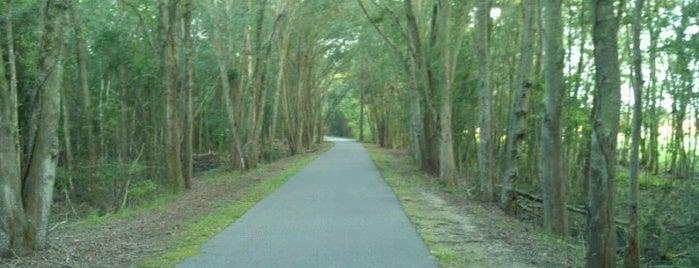 Jacksonville-Baldwin Bike Trail (Imeson Trailhead) is one of JAX.