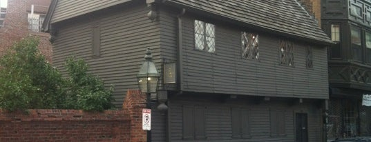 Paul Revere House is one of Boston's Best Entertainment - 2012.