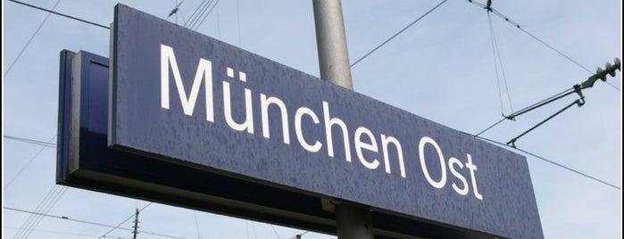 Bahnhof München Ost (S Ostbahnhof) is one of Locais curtidos por Fatih.