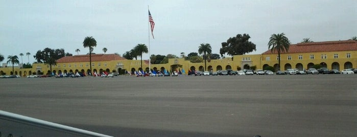 MCRD Parade Deck is one of 416 Tips on 4sqDay 2012.