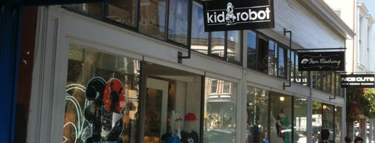 KIDROBOT is one of liver's best of SFO.
