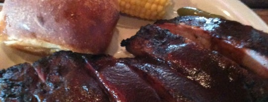 Spring Creek Barbeque is one of Scott's Liked Places.