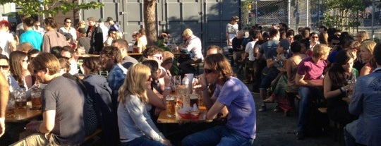 Biergarten is one of Intoxicated in SF.