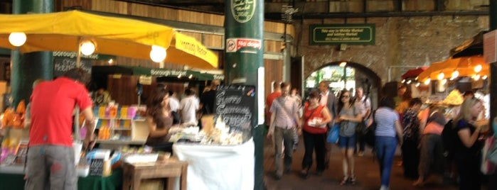 Borough Market is one of London Restaurants.