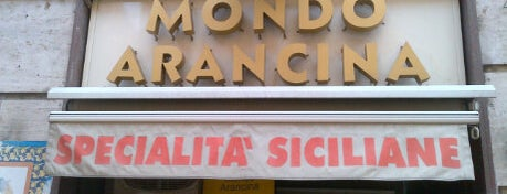 Mondo Arancina is one of Mangiare vegan a Roma.