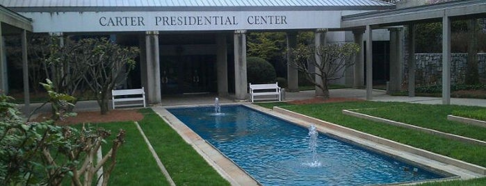 Jimmy Carter Presidential Library & Museum is one of Recommendations in Atlanta.