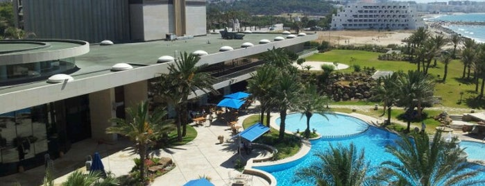 Mövenpick Hotel & Casino Malabata is one of Marrakech & Essaouira & Tanger.