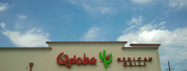 Qdoba Mexican Grill is one of Lugares favoritos de Crispin.