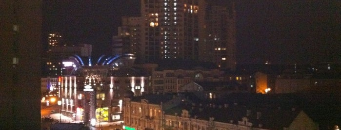 Крыша паркинга универмага «Украина» is one of Igor 님이 저장한 장소.