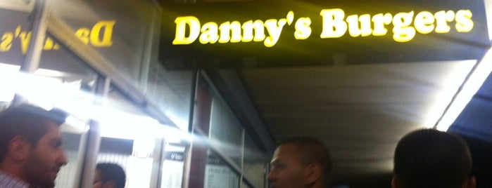 Danny's Burgers is one of speciality-ness.....
