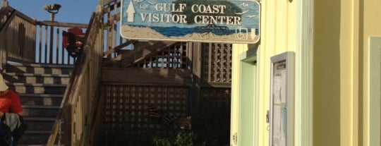 Gulf Coast Visitor Center is one of ACTIVITIES.