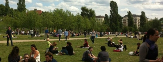 Mauerpark is one of StorefrontSticker #4sqCities: Berlin.
