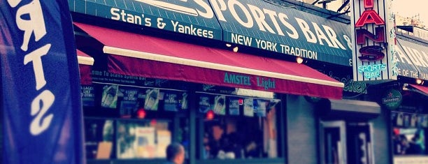 Stan's Sports Bar is one of NYCFC Bars.