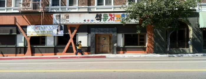 Traditional Korean Pub is one of LA.
