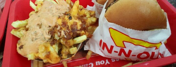 In-N-Out Burger is one of Vegas.