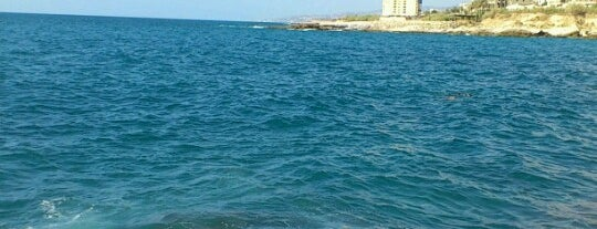 Tabarja beach is one of places in lebanon i been to.