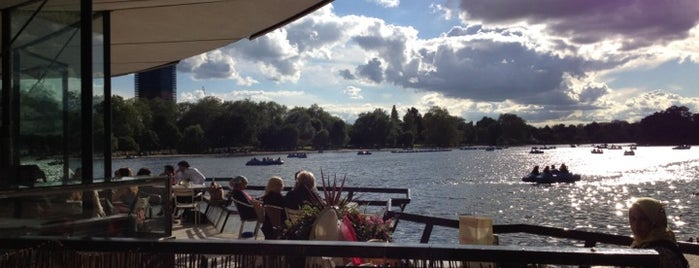 Serpentine Bar & Kitchen is one of London Favourite.