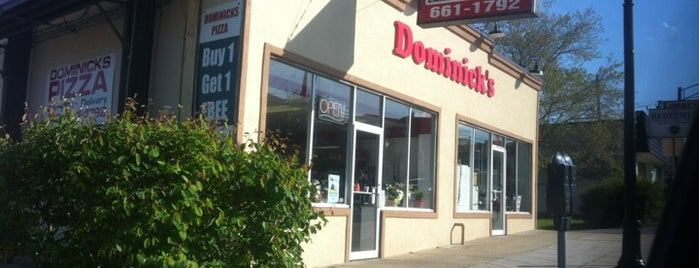 Dominick's Pizza is one of Baltimore Chowdown.