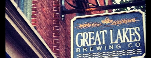 Great Lakes Brewing Company is one of Lake Beerie.