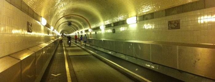 Alter Elbtunnel is one of Best of Hamburg.