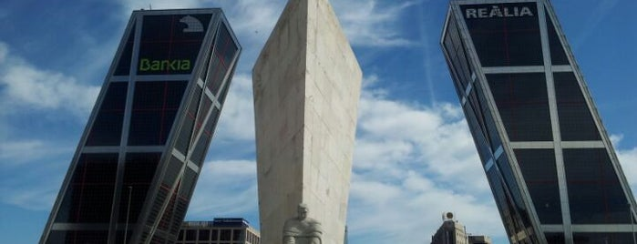 Puerta de Europa (Torres KIO) is one of The Best Of Madrid.