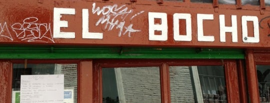 El Bocho is one of Madrid comer.