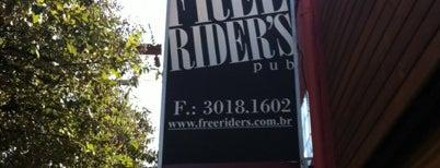 Free Rider's Pub is one of Locais salvos de Sandra.