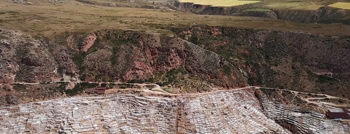 Salineras de Maras is one of Cusco y El Valle sagrado de los Incas.