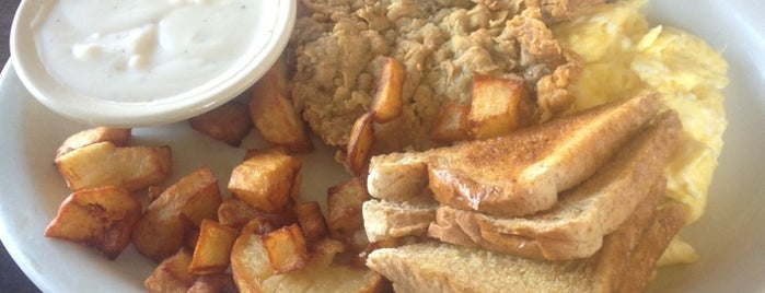 Easy Street Family Cafe is one of DFW Breakfast.