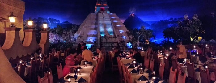 Mexico Pavilion is one of Epcot.