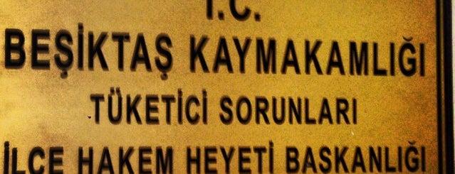 Beşiktaş Kaymakamlığı is one of Locais curtidos por 🇹🇷B@yr@M🇹🇷.