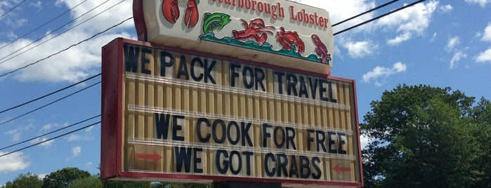 Scarborough Lobster is one of Maine.
