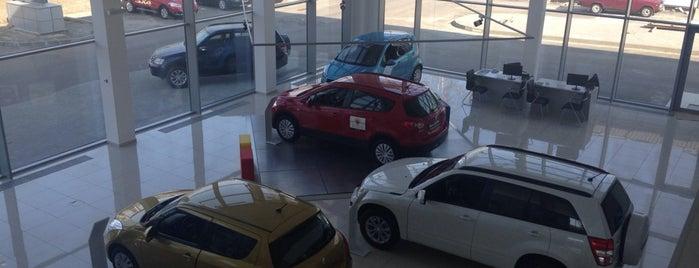 НІКО Істлайн Мегаполіс (Офіційний дилер Mazda, Suzuki) is one of สถานที่ที่ Денис ถูกใจ.