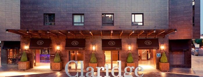 Hotel Claridge is one of Curso Selectivo.