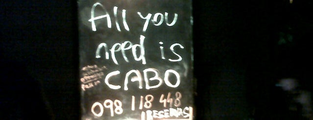 Cabo Bar is one of Uruguay Natural.