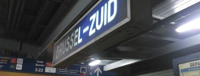 Stazione di Bruxelles Sud (ZYR) is one of Things to do in Europe 2013.