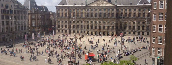 Place du Dam is one of Europe 2014.
