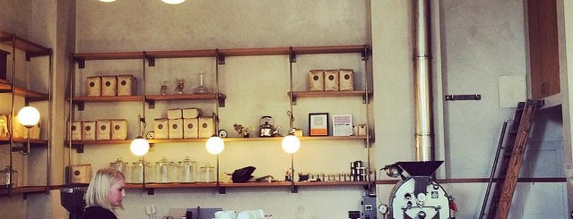 Sightglass Coffee is one of San Fran Coffee Shops.