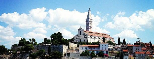Rovigno is one of Istria, Croatia.
