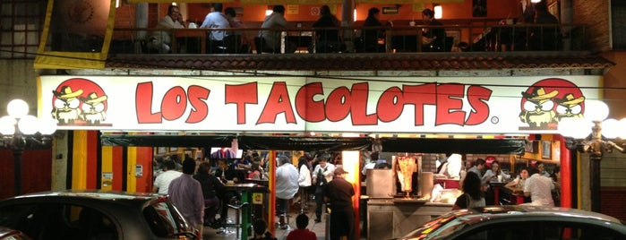 Los Tacolotes is one of Locais salvos de Aline.
