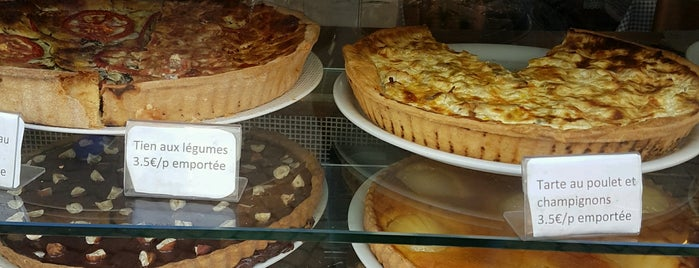 La Maison des Tartes is one of Quiche & tarte in Paris.