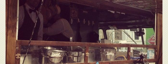 Crepes Parfait is one of Washington DC Food Trucks.