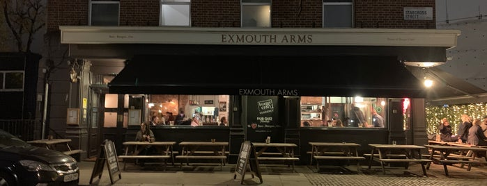 Burger Craft @ The Exmouth Arms is one of United Kingdom 🇬🇧.
