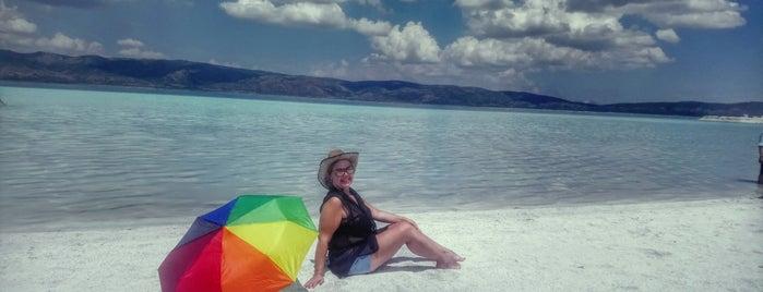 Saldivler Plajı is one of Lieux qui ont plu à Ayşe Behra.