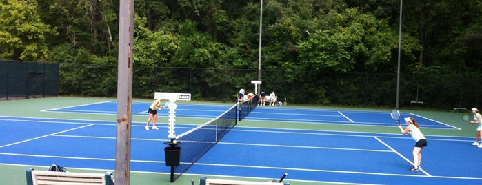 Blackburn Tennis Center is one of OUT OF TTTTOWN.