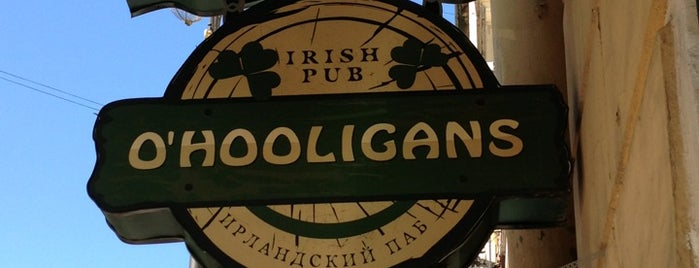 O'Hooligans is one of Санкт-Петербург - Рестораны.
